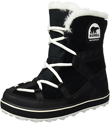 Sorel Damen Glacy Explorer Shortie Boots, schwarz, Größe: 40 (Womens Sorel Snow)