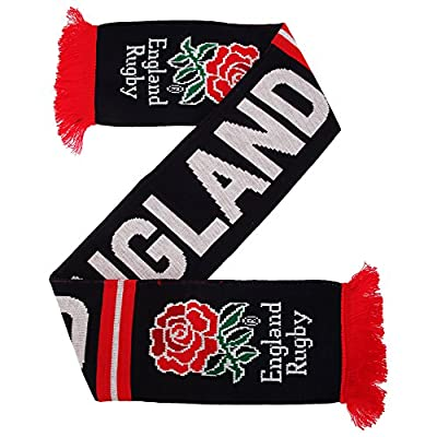 England RFU Official Striped Winter Rugby Crest Scarf
