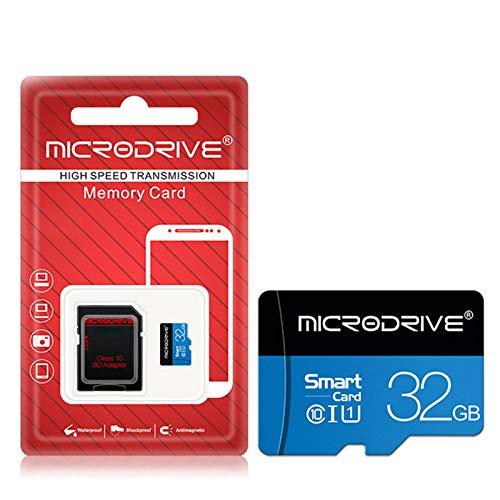 ZYJ Speicher Flash-SD-Karte, 1PC Mikro-TF-Karte SD-Speicher 16GB 32GB 64 GB Speicherkarte Micro SD Karte verwendet für Drivng Recorder/Sport-Kamera/Smartphone,32GB -