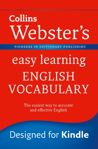 Webster's Easy Learning English Vocabulary (Collins Webster's Easy Learning) (English Edition)