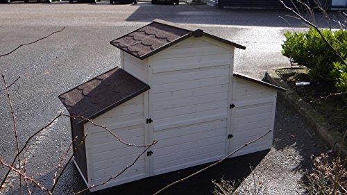Animalhouseshop.de Kaninchenstall Annemieke mit Auslauf 175x70x110cm - 5