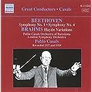 GREAT CONDUCTORS  Pablo Casals dirigiert Beethoven und Brahms