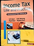 Best Book Publishers - INCOME TAX LAW AND PRACTICE 2018-19 Review