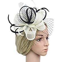 dressfan Fasce per capelli Accessori per capelli da sposa Accessori per capelli  da sposa Fascinator Ornamenti 6dc60fa2cd18