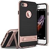 VRS Design, iPhone 7 Hülle [High Pro Shield][Rosa Gold] - [Military Grade Schutzhülle][Klappständer] Handy Zubehör Für Apple iPhone 7 4.7 - 2016