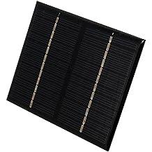 1x DIY Panel Solar Placa de Polisilicio 1.5w 12v