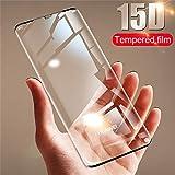 PmseK Protection d'Écran,Verre Trempé,Film Protecteur d'Écran,15D Tempered Glass for P30 P20 P10 Lite Screen Protector Film for Honor 9 Lite 10 P30 P20 Pro Protective Glass for Huawei P10 Black