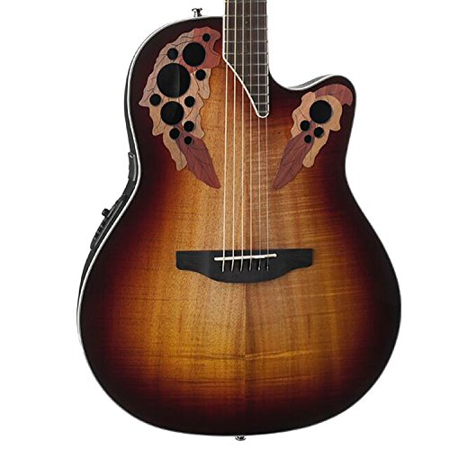 Ovation Celebrity Elite Plus - Super Shallow - Koa Burst CE48P-KOAB