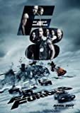 THE FATE OF THE FURIOUS - Fast and the Furious 8 - German Movie Wall Poster Print - 30CM X 43CM Brand New