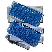 Bellasan Kalt/Warm Kompresse mit Klettbandage und Schutzhülle, 1er Pack (1 x 2 Stück) preisvergleich bei billige-tabletten.eu