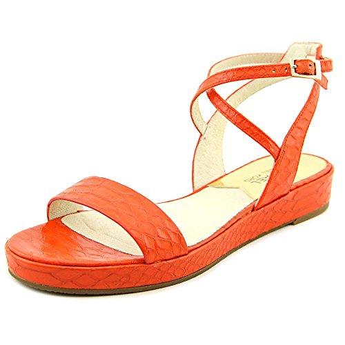 Michael Kors Kaylee sandali di cuoio piatto