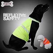 Chaleco reflectante para perro GYF para caza, chaleco de seguridad, chaleco de alta visibilidad, color neón