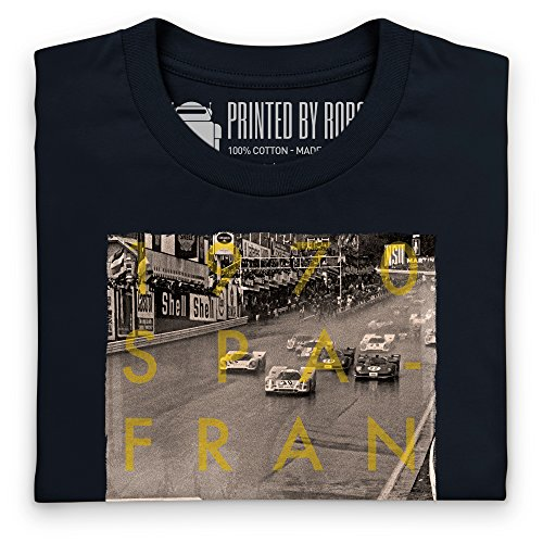Official LAT Photographic 970, Spa-Francorchamps 1000 kms T-Shirt, Herren Schwarz