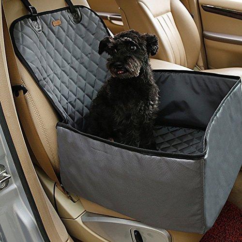 PETTOM Hunde Autositz Autoschondecke 2 in 1 Sitzerhöhu… | 00727516158727