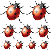 Sticker Sheet with 9 Ladybirds 30 x 29 cm