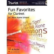 Fun Favorites for 1-3 Clarinets, m. Audio-CD