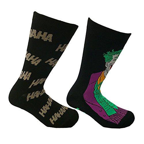 i-Smalls Herren DC Comics 2 Pack Joker Socken