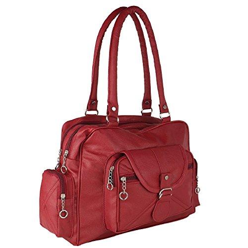 Bizarre Vogue Women\'s Stylish Handbag (Maroon, BV973)