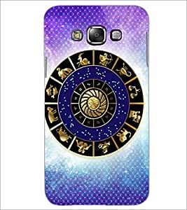 PrintDhaba Zodiac Wheel D-3254 Back Case Cover for SAMSUNG GALAXY GRAND 3 (Multi-Coloured)