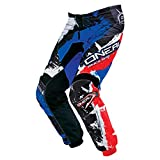 O'Neal Element Kinder MX Hose Shocker Schwarz Blau Motocross Enduro Offroad, 0124S-52, Größe 26/42