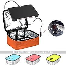 yiboss Mini horno eléctrico calefacción Mini portátil y # xFF0 C; Bolsa para el almuerzo, resistente al agua de calefacción eléctrica calentador de ...
