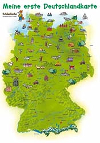 Pdf Schlaufuchs Kinderzimmer Poster Meine Erste Deutschlandkarte
