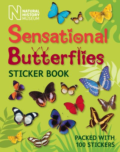 Sensational Butterflies Sticker Book (Natural History Museum)