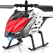 Resistance to Falling Mini Helicopter Radio Remote Control Aircraft Toy Infraed Induction Colorful LED Lightin