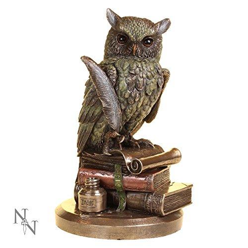 Nemesis Now–Ulula studious búho figura decorativa
