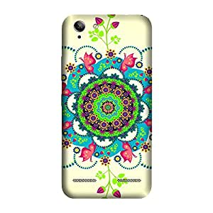 GADGETS WRAP Printed Back cover for Lenovo K5 Mandala Flowers