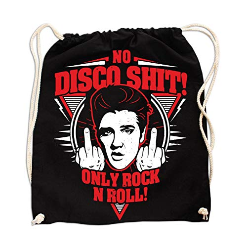 Rucksack No Disco Shit Only Rock n Roll -