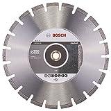 BOSCH Diamanttrennscheibe Standard für Asphalt, 350 x 20/25,40 x 3,2 x 8 mm, 2608602625