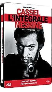 Mesrine - L'intégrale : L'instinct de mort + L'ennemi public n°1 [Pack Collector boîtier SteelBook]