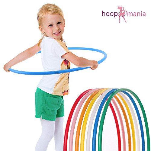 Hoopomania Kinder Hula Hoop Reifen in hellblau SONDERANGEBOT: nur solange der Vorrat reicht!