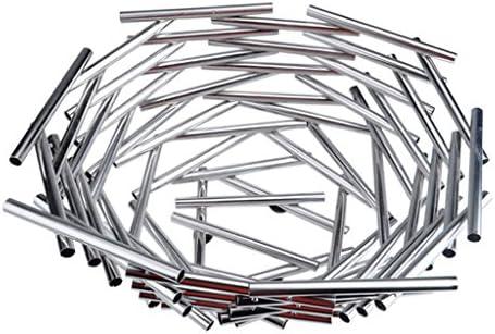 ZfgG Creativo tridimensionale nido d'uccello piatto di di di frutta d'argentoo in acciaio inox moderna casa pratico piatto di frutta - grande 54a7cb