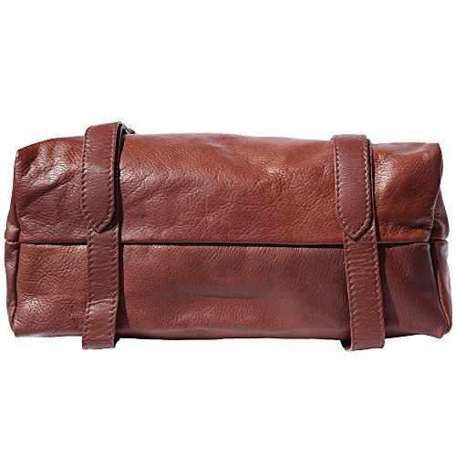 sac à èpaule avec rabat 6141 Marron