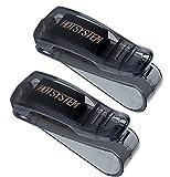 HOTSYSTEM 2 x Soporte de gafas clips para coche automóviles