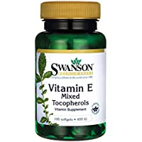 Swanson - Vitamina E 400 IU, 100 Capsule - D-Alfa-Tocoferolo