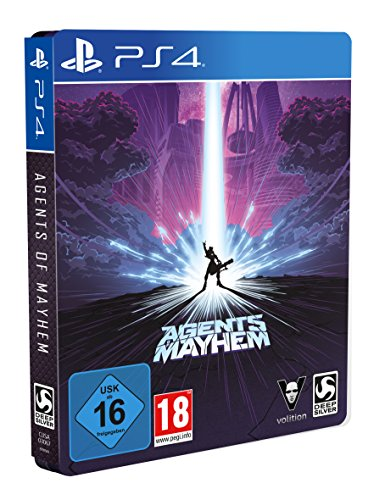 Agents of Mayhem - Steelbook Edition - [PlayStation 4] (Playstation 4 Gta 5 Edition)
