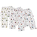 #5: Littly Cotton Baby Pajamas/Leggings, Pack of 3 (White)