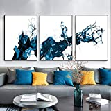 YDGG Abstract Canvas Poster Wall Art Print Painting Modern Living Room Decor Picture-50x70cmx3 pcs no frame