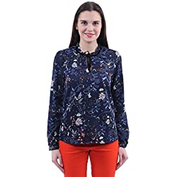 Vero Moda Women's Body Blouse Top (10161368_Navy Blazer_XS)