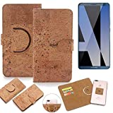 K-S-Trade 360° Cover cork Case for Huawei Mate 10 Pro Dual