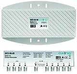Axing SES 86-00 Einkabel-Multischalter für 2 Satelliten/Quattro LNBs Unicable für 6 Teilnehmer