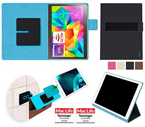 amsung Galaxy Tab S 10.5 Tasche Cover Case Bumper   in Schwarz   Testsieger ()