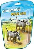 Playmobil Vida Salvaje- Facoceros Africanos Animales, Multicolor, 6 x 18 x 12,2 cm (Playmobil 6941)