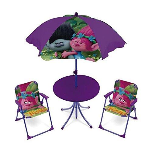 Trolls 711353Set Garten Kunststoff violett 55x 50x 50cm
