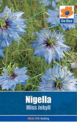 AGROBITS De Ree Nigella Fräulein Jeckyll Flowe 55 in 1 Pack gh Garten s