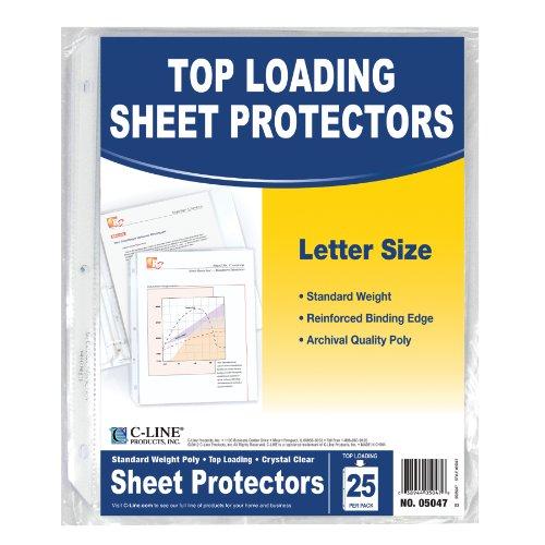 c-line-dessus-poids-standard-poly-feuille-protecteurs-216-x-279-cm-pack-of-25-claire