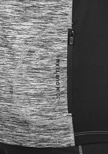 BLEND ATHLETICS Jemes Herren Longsleeve Shirt Meliert Aus Hochwertiger Materialqualität Stone Mix